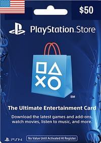 PlayStation Network Card USD $50