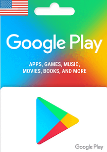 Google Play Gift Card USD