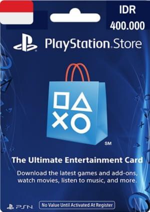 PlayStation Network Card IDR 400.000