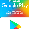 Google Play Gift Card IDR 300.000