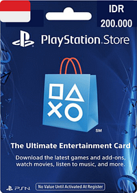 PlayStation Network Card IDR 200.000