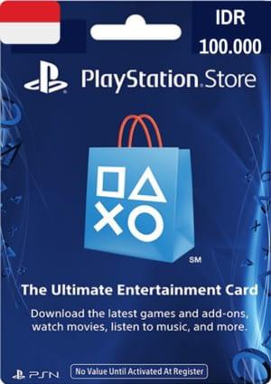PlayStation Network Card IDR 100.000