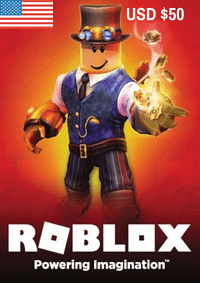 Roblox Game Card USD $50