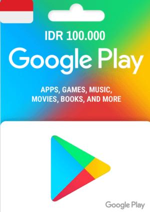 Google Play Gift Card IDR 100.000