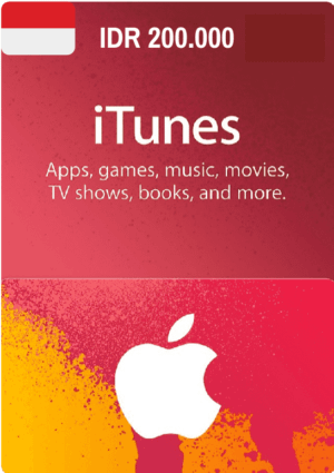 iTunes Gift Card IDR 200.000