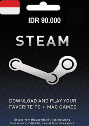 Steam Wallet IDR 90.000